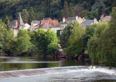 Rives de Creuse à Argenton-sur-Creuse