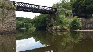 Le Pont Noir à Badecon-le-Pin