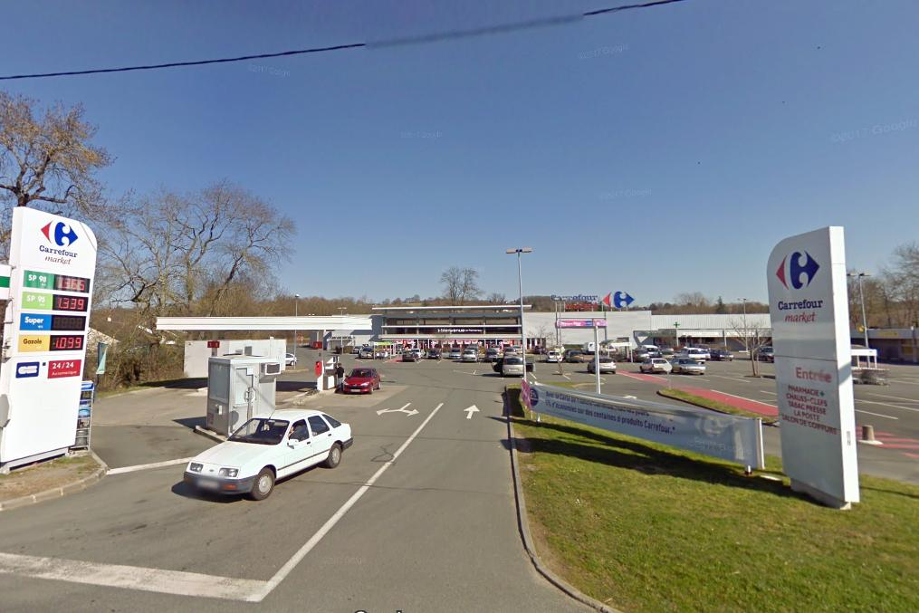 Carrefour Market argenton-sur-Creuse - visuel Google Map