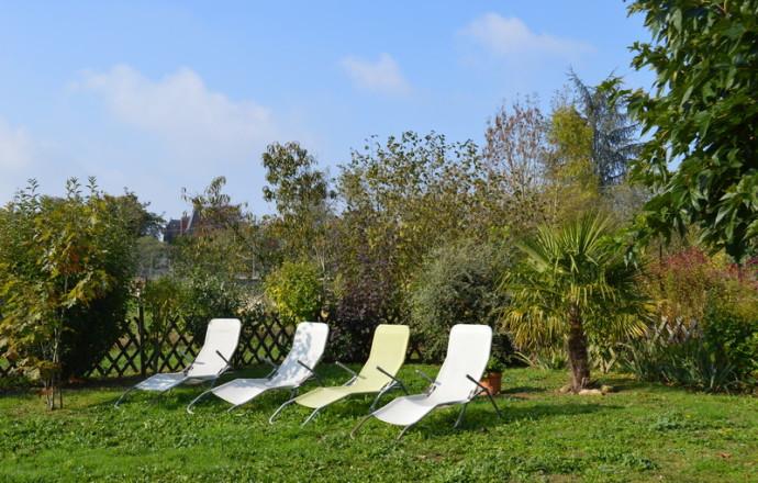 Jardin du Gîte Broquet - Le Menoux