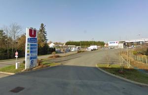 Super U Eguzon Google Map