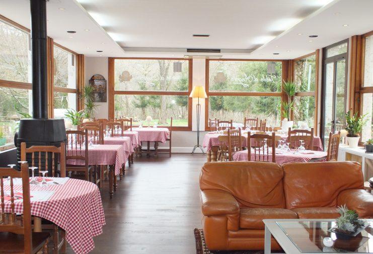 Salle de restaurant La Table d'Angèle - Eguzon
